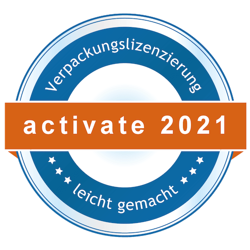 Lizenz activate by reclay 2021